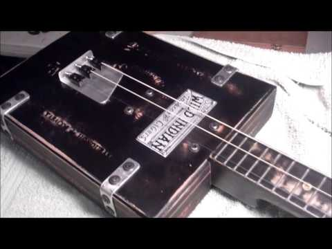 ~AirCraft~ 3 string cigar box guitar