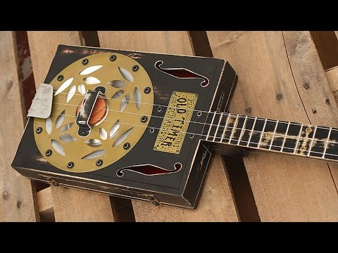 1857 Old Timer ~Cigar Box Resonator~3 String Guitar