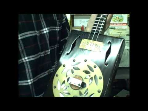 3 String Resonator Cigar Box Guitar