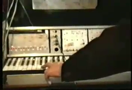 experimental electronic music tMusic studio at 80-90 USSR