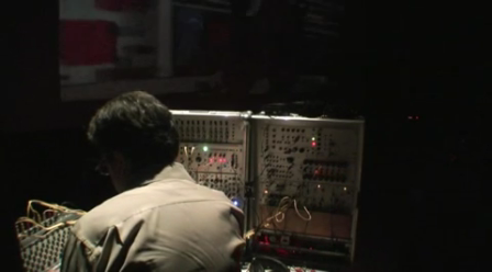 experimental electronic music by Vadim Ganzha  concert at 3 July 2010 part 2