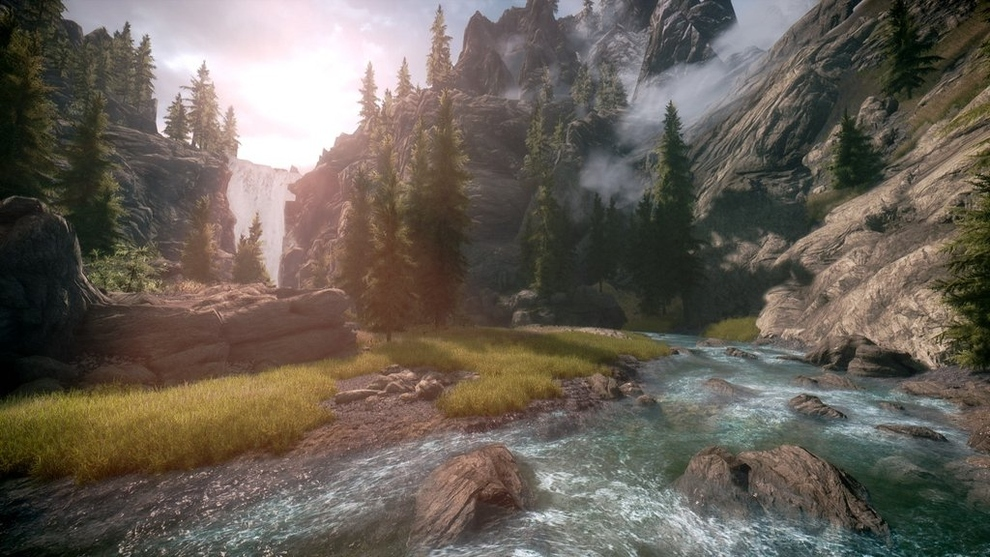 Beautiful Video Game Landscapes