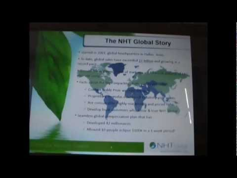 NHT Global Business Presentation with Patrick Tulloch & Donna Young