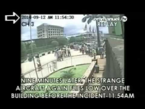 EXCLUSIVE: Security Footage Of Synagogue Building Collapse & 'Strange Airplane' Allegedly Behind It