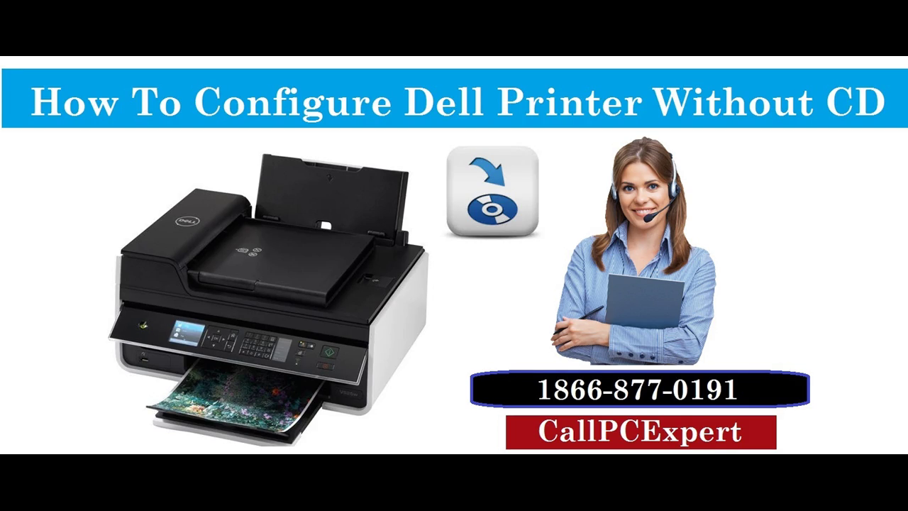 How To Configure Dell printer Without CD