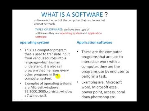 14. what is a software?