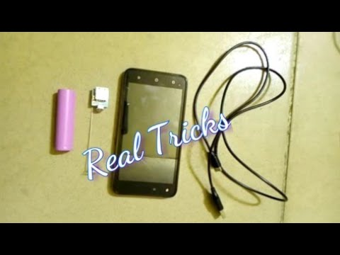 Simple Life Hack: How To Charge Your Phone With Cell Battery