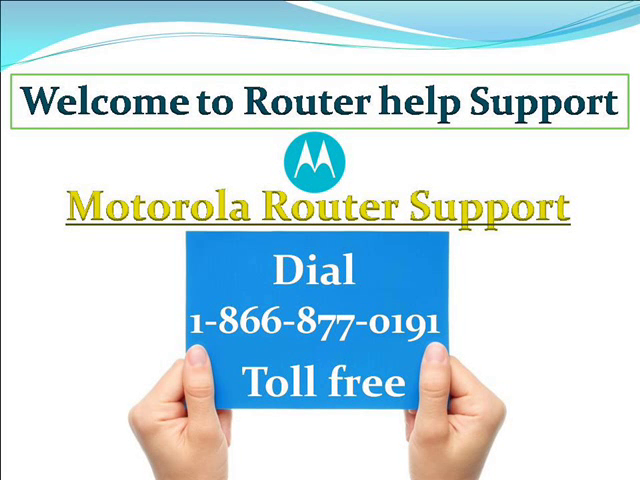 motorola router support