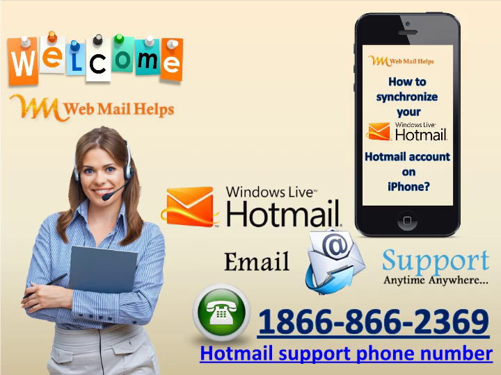 How to synchronize your Hotmail account on iPhone