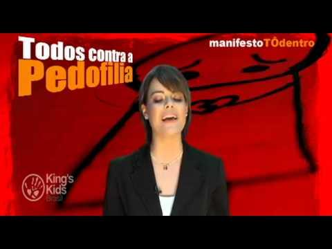 #manifestoTOdentro - Ana Paula Valadão contra a pedofilia