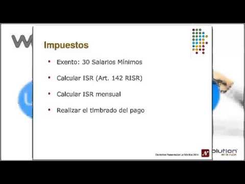 Webinar aguinaldo 2014