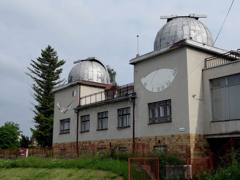 Tale of an abandoned Czech Public Observatory