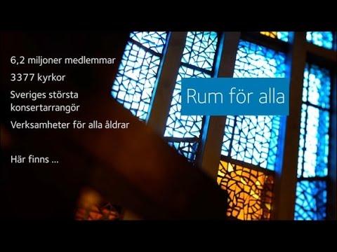 Svenska kyrkan - Rum för alla