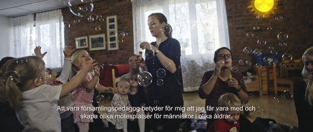 Utbilda dig till en framtid i Svenska kyrkan - församlingspedagog