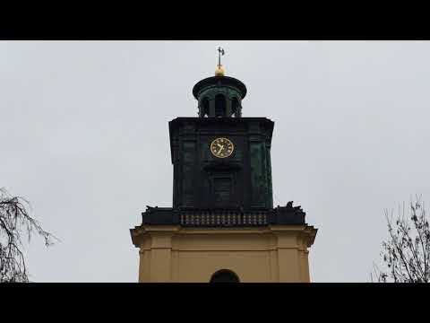 Kanonskjutning från Norrköpings stadstorn