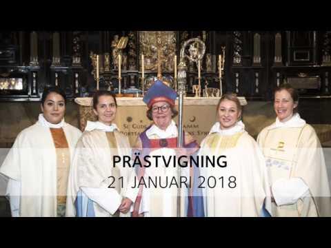Prästvigning den 21 januari 2018