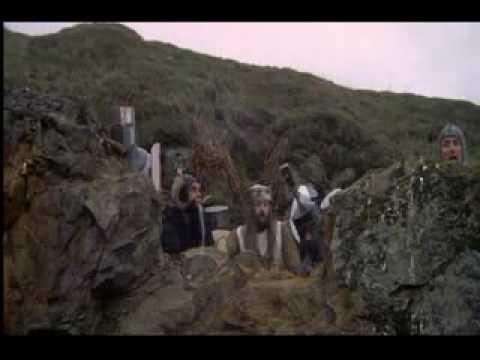 Killer Rabbit scene from Monty Python & the Holy Grail