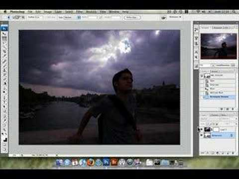 Photoshop tutorial- Cómo hacer HDR más natures