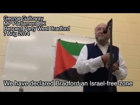 "BRITISH MP ""NO JEWS"" - ONLY HAMAS!"