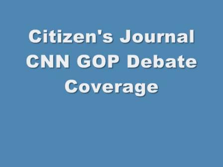 CNN Reagan Library Debate