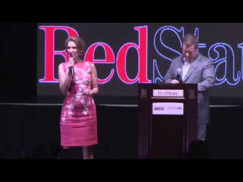 Carly Fiorina FULL Appearance at RedState Gathering 2015 (8-7-15)