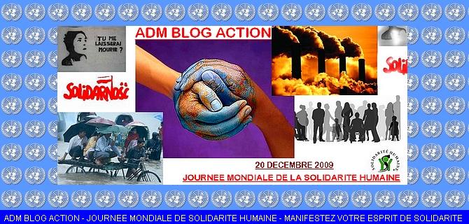 ADM Blog Action Solidarite Humaine