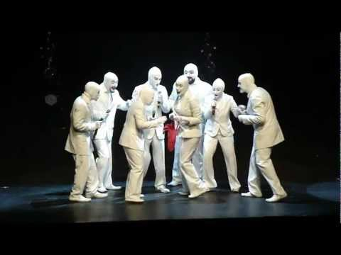 The Voca People live in Athens-Greece Badminton Theater HD!!