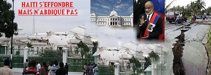 Haiti n'abdique pas