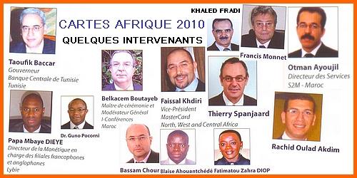 banniere cartes afrique 2010