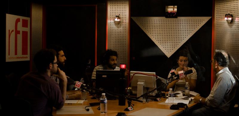 Usbek&Rica et Zmala à l'atelier des médias