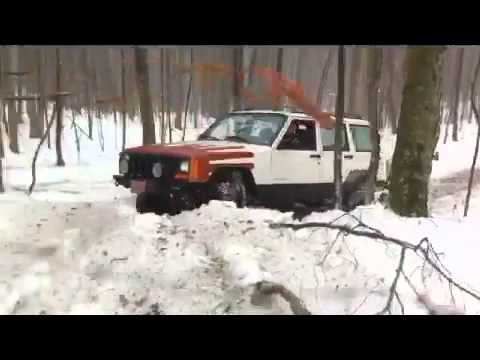Blue Ridge Jeepers - Snow Wheeling 2/05/11