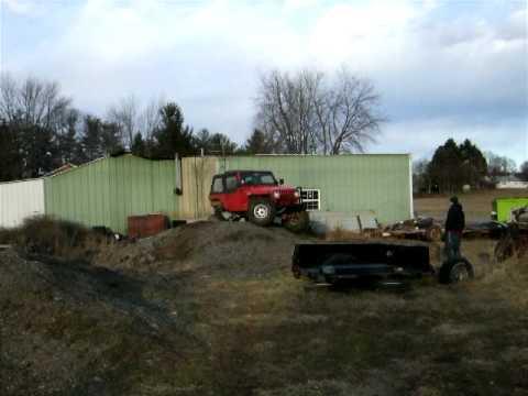 TJ testing at the farm -part two (RJ2)