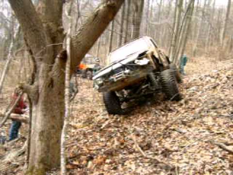 Jeep Roll Over Demo
