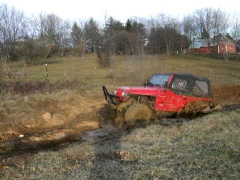 RJ2 First mud pit test