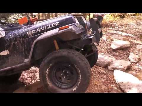 Dozin through at Rausch Creek with Blue Ridge Jeepers!