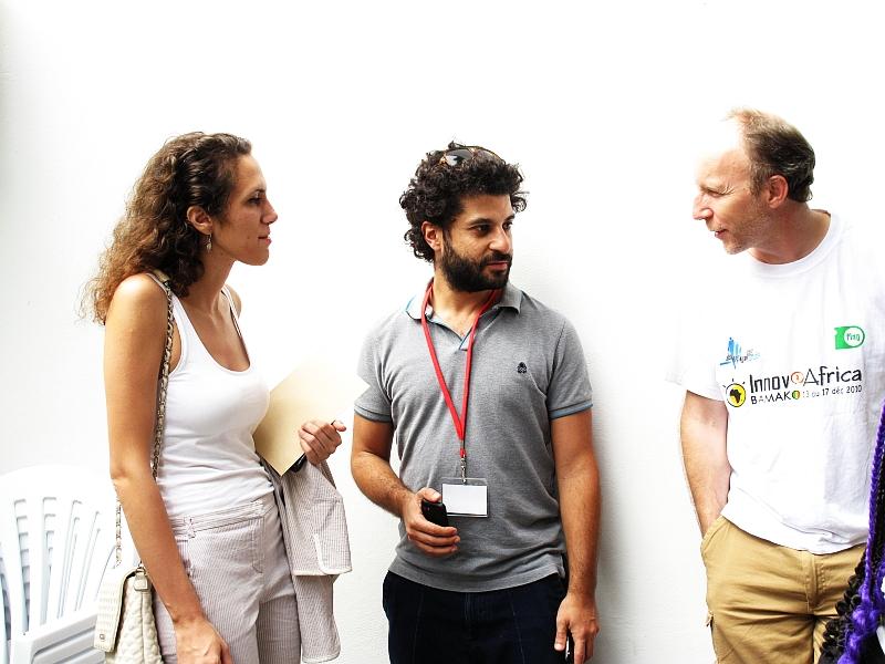 Aude Guyot, Ziad Maalouf, Denis Pansu (de g. à dr.)