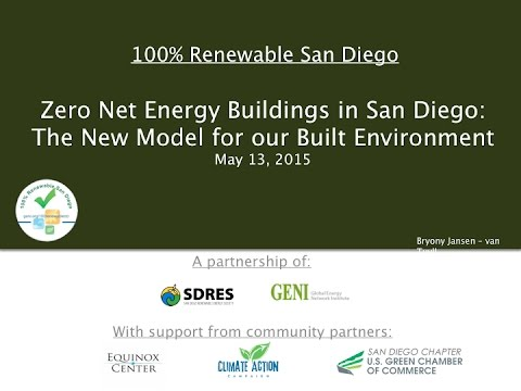 Net Zero Energy Buildings - San Diego Renewable Energy Society