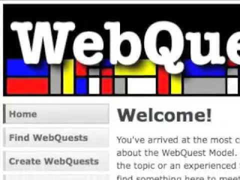 WebQuest 101 Part 1 -- What is a WebQuest?