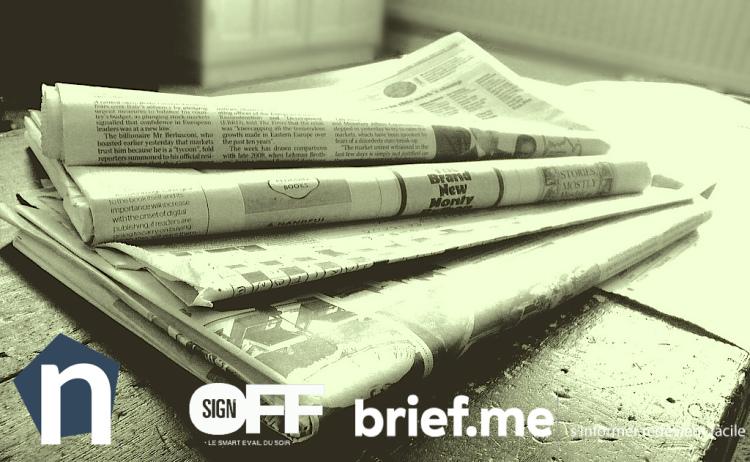 Brief.me, nod et #TTSO : l'actualité sur mesure pour lutter contre l'infobésité