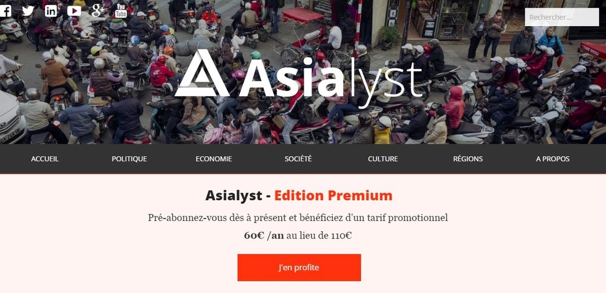 Asialyst : un nouveau média spécialisé sur l'Asie