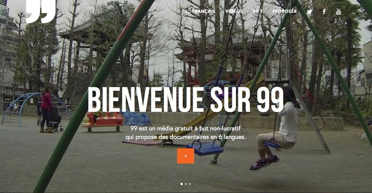 """""""99"""", le média lyonnais gratuit et participatif"""