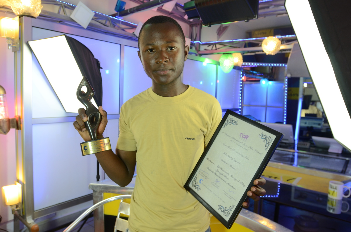 Le cinéaste congolais Alif Buterinote est finaliste dans le 3rd Chennai International Short Film Festival
