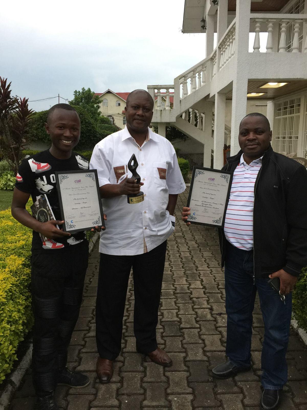Alif Buterinote soutenu par le Gouvernement national de la République Démocratique du Congo pour sa carrière de cinéma