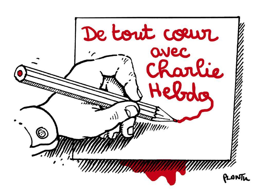 #NousSommesCharlie : les rassemblements en France et dans le monde en hommage à Charlie Hebdo