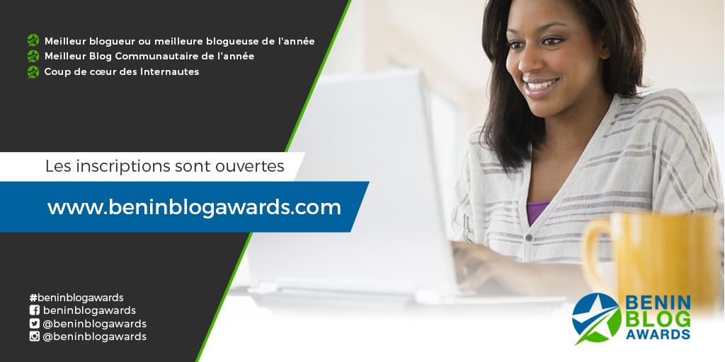 Bénin Blog Awards, un concours qui vise à mettre en lumière les blogueurs Béninois.