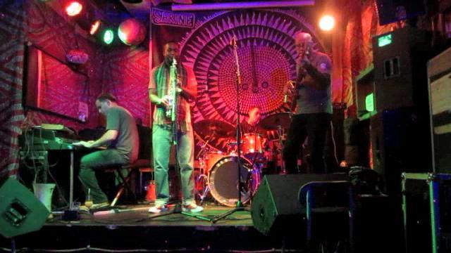 Owl Jazz Band at The Shrine - Harlem, NYC 12-7-11