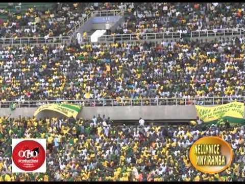 Yanga wacheza NGOLOLO style kushangilia goli la 2 dhidi ya Mtibwa