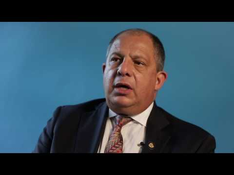 Women's Economic Empowerment: In Conversation with President Luis Guillermo Solis