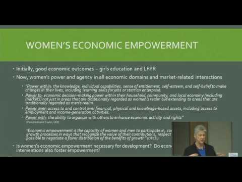 Women's Economic Empowerment: What Works and How to Measure It
