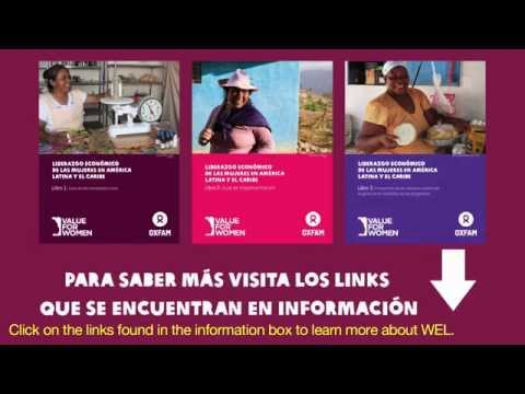 Women's Economic Leadership in Latin America and the Caribbean (in Spanish with English subtitles)